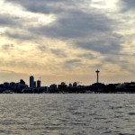 seattle from wooden boat ride